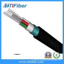 48 GYTS de núcleo de cable de fibra óptica con acero tipo blindado para aplicación al aire libre
