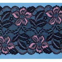 Encanto tecidos de rendas de nylon de projetos Beautiful / da guipura do laço para o vestido de casamento