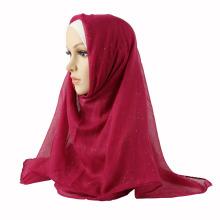 Glittery muslim hijab hot Muslim scarf