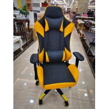Game Chair Jaune Pu Cusion
