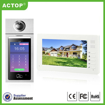 Apartamento ip door phone video