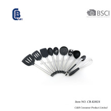 Conjunto de utensílios de cozinha de silicone 10 peças