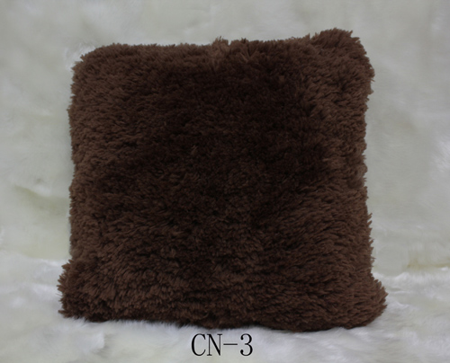 Polyester Shaggy Cushion