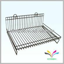 3 estantes bandeja de pintura extraíble de metal Wire Display Stand