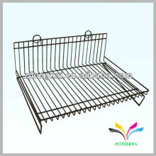 3 shelves removable paint can metal sheet Wire Display Stand