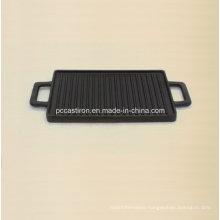 Cast Iron Cookware Griddle Size 38X23cm
