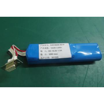 14.8V 2.6Ah rechargeable battery pack smart battery