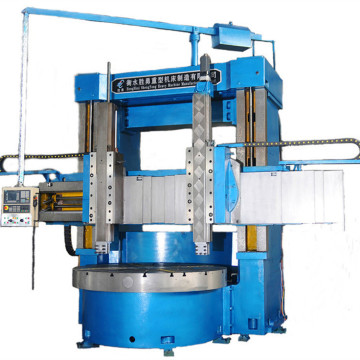 Popular torno de torneado vertical CNC en stock
