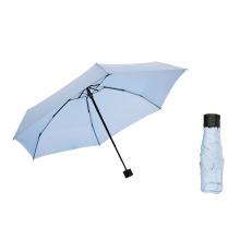 Easy Taken Super Mini 18cm Manual Style 5 Folding Umbrella for Europe Market