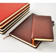 Cuaderno de cuero estampado monograma Pu con logo