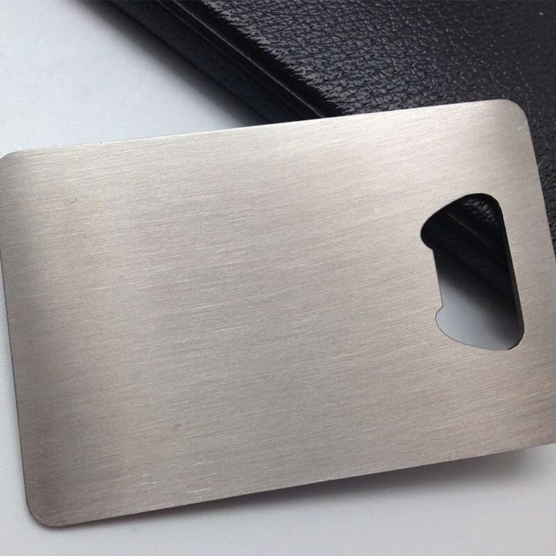 Aluminum Business Cards