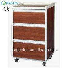 ABS de DW-CB004 à côté de l'armoire de chevet d'hôpital de meubles d'hôpital de casier
