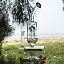 Winter neueste Design Green Glass Rauchende Wasserpfeifen (ES-GB-299)