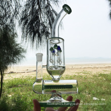 Winter Newest Design Green Glass Smoking Water Pipes (ES-GB-299)