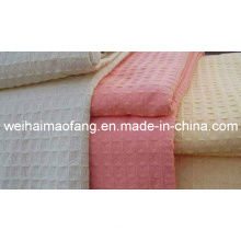 Factory of 100%Cotton Waffle Weave Blanket