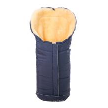 Genuine merino sheepskin sleeping bag for babies