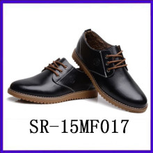 new arrival black suit shoes rubber insole shoes men gender shoes