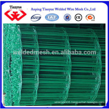 Green color PVC coated welded wire mesh rolls