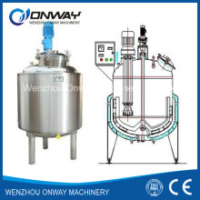 Pl Stainless Steel Jacket Emulsification Mixing Tank Oil Blending Machine Mixer Electric Heating Mixing Tank