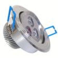 Lâmpada de fundição de alumínio leve
