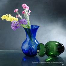 Sprayed Colored Glass Vase Wholesale