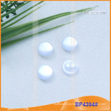 Shank perla botón de poliéster botón para la camisa BP4394