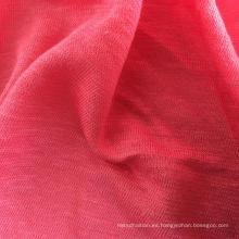 Jersey de lino de la ropa de punto de bambú