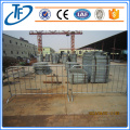 Portable galvanized Steel Traffic Crowd Control Barrier