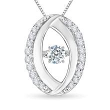 925 Sterlingsilber-Tanzen-Diamant-Schmucksache-Großverkauf