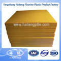 Jaune Transparent Color Polyurethane Sheet Sheet PU