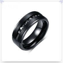 Lady Fashion anillo de campana de acero inoxidable joyería (SR186)