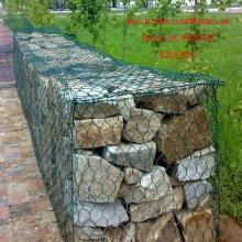 Gabinete revestido com PVC Gabion Box Gabion Box Made in China Factory