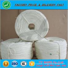 Corde d'emballage blanche de corde de Sisal de blanchiment de haute qualité 3ply