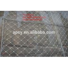 Gabionenmatten / Hang Gabion Schutzmasche / sechseckige Gabionenmasche