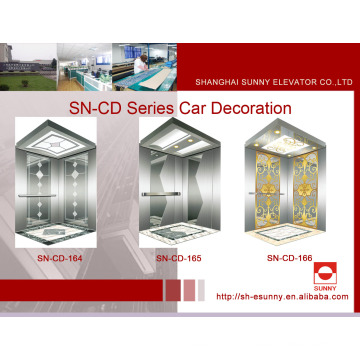 Cabine de Elevador com Painel de Gravura (SN-CD-164)