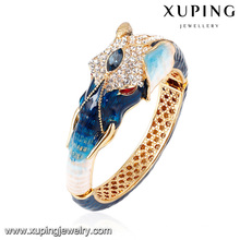 Brazalete de la joyería de Zirconia cúbica con forma de animal elegante de la moda del brazalete -60
