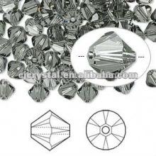 Perles en bicône à facettes en cristal