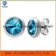 Jewelry Ear Stud Earring with Stone
