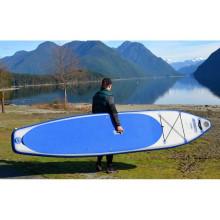 Prancha de surfe inflável de 11 ′ de comprimento bom prancha de remo para surfar