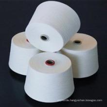 100% Polyester yarns Ne 20/1 raw white- High Quality form VIETNAM