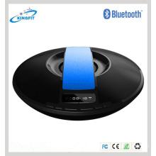 Display LED UFO Alto-falante Bluetooth Portátil com Relógio