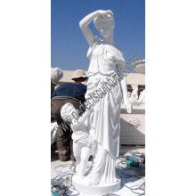 Carved Stone Marble Sculpture Granite Statue for Garden Decoration (SY-X1589)