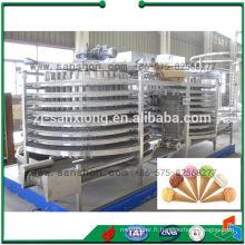 Machine à congélateur rapide à double spirale en Chine