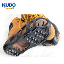 Safety 24 spikes wholesale ice grips snow cleats with customized logo