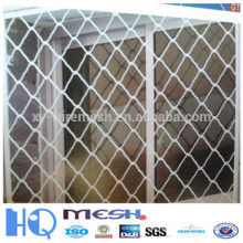 pvc beauty grid wire mesh