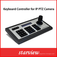 Controlador de teclado de red IP para cámara IP PTZ