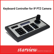 IP Network Keyboard Controller for IP PTZ Camera