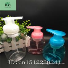 Garrafa de plástico espuma garrafa de espuma personalizado garrafa de bomba de espuma