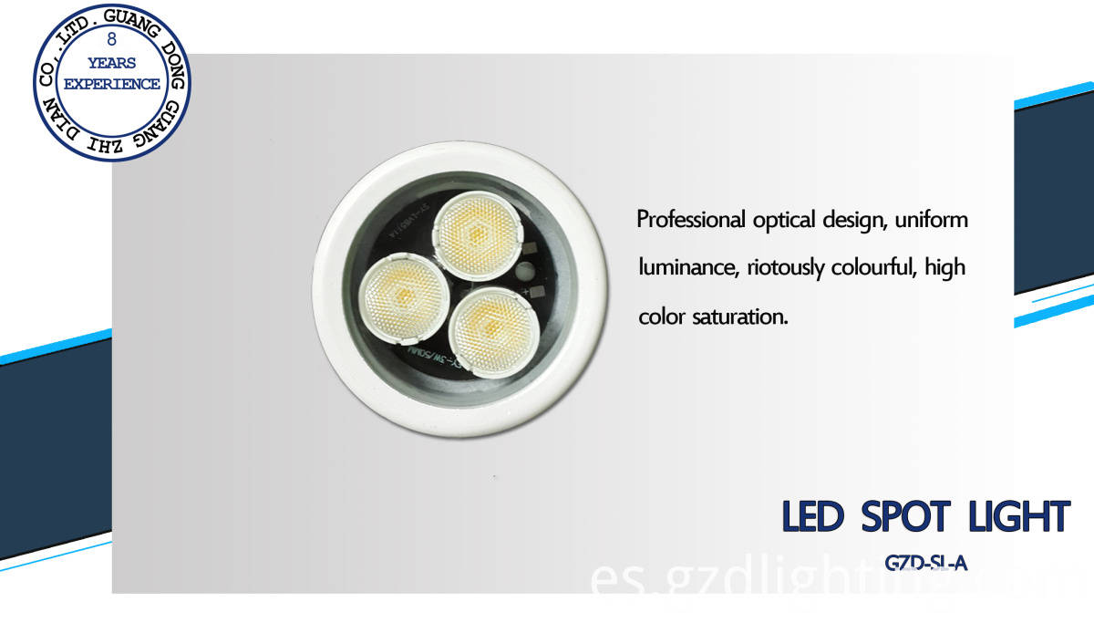 outdoor led spot light detail