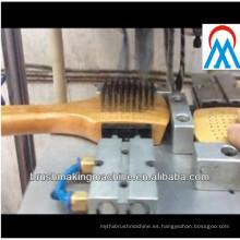 Máquina de fabricación de cepillo de 2 ejes